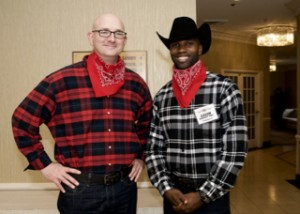 Aaron & Rodney - our two SAFB Volunteers!